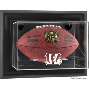 Cincinnati Bengals Fanatics Authentic Black Framed Wall-Mountable Football Display Case