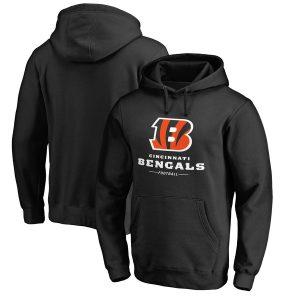 Cincinnati Bengals NFL Pro Line by Fanatics Branded Team Lockup Pullover Hoodie
