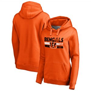 Cincinnati Bengals NFL Pro Line by Fanatics Branded Women's First String Pullover Hoodie