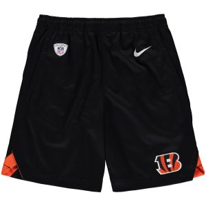 Cincinnati Bengals Nike Youth Knit Performance Shorts