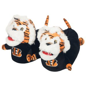 Cincinnati Bengals Youth 3D Mascot Slippers