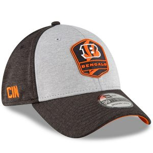 Men's Cincinnati Bengals 2018 NFL Sideline Road Official 39THIRTY Flex Hat
