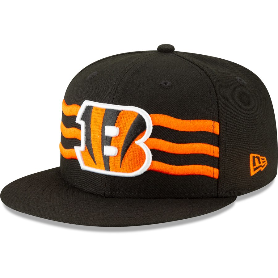 first look shop low cost Cincinnati Bengals New Era 2019 NFL Draft On-Stage Official ...