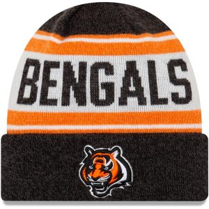 Cincinnati Bengals New Era Youth Stated Cuffed Knit Hat