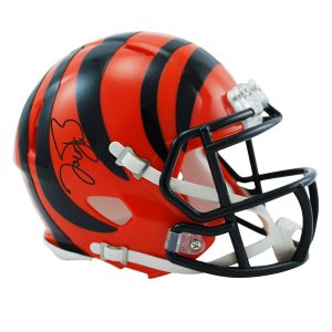 Joe Burrow Cincinnati Bengals Autographed Riddell Speed Mini Helmet