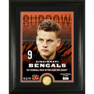 Joe Burrow Cincinnati Bengals Framed 2020 NFL Draft Day Collage – Facsimile Signature