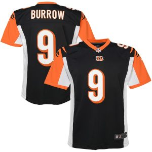 Joe Burrow Cincinnati Bengals Nike Youth 2020 NFL Draft First Round Pick Game Jersey