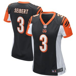 Austin Seibert Cincinnati Bengals Nike Game Jersey