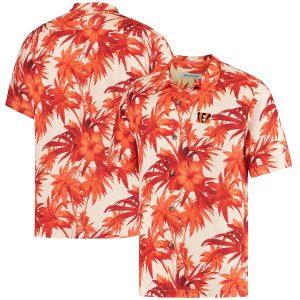 Cincinnati Bengals Tommy Bahama Camp Button-Down Shirt